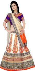Fashion4masti Embroidered Women's Lehenga, Choli and Dupatta Set
