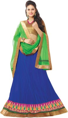 Maulik enterprise Embroidered Women's Lehenga, Choli and Dupatta Set