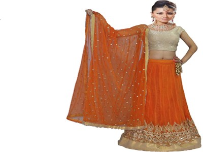 Sehaj Vastra Embroidered Women's Lehenga, Choli and Dupatta Set