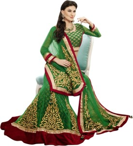 Triveni Self Design Women Lehenga Choli