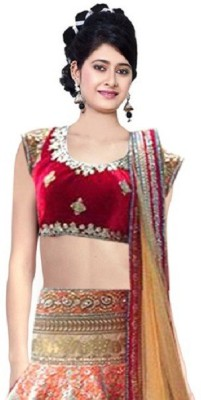Fashion Rudraksh Embroidered Women's Lehenga, Choli and Dupatta Set