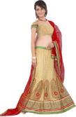 Nupur Fashion Embroidered Women's Lehenga, Choli and Dupatta Set