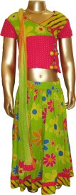 Exclusive from Jaipur Printed Girl's Ghagra Choli