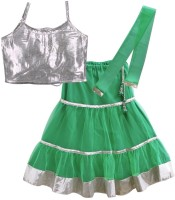 lil'posh Self Design Girl's Ghagra Choli - LCHDYCT37REQ9FPD