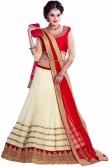 Vastra Self Design Women's Lehenga, Choli and Dupatta Set
