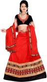 Aaryan Self Design Women's Lehenga, Choli and Dupatta Set