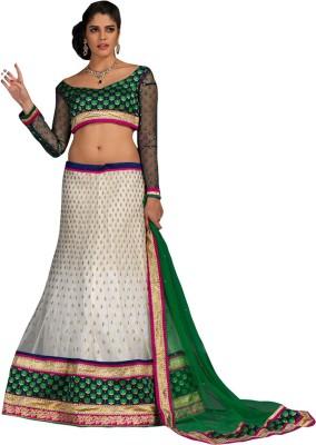 Panth Design Embroidered, Embellished, Self Design Women's Lehenga, Choli and Dupatta Set