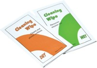 JJC Lens Cleaning Tissue (5 pcs Dry + 5 Pcs Wet)  Lens Cleaner