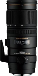 Sigma 70 200 mm f/2.8 APO EX DG HSM OS Lens for Canon Cameras