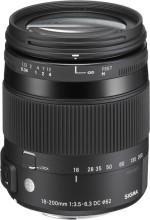 Sigma 18 200 mm f/3.5 6.3 DC Macro OS HSM Contemporary Lens for Nikon Cameras