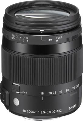 Sigma 18 - 200 mm f/3.5 - 6.3 DC Macro OS HSM Contemporary Lens for Canon Cameras  Lens