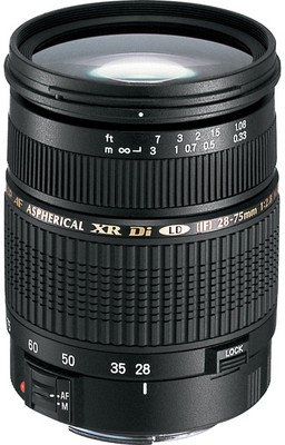 Buy Tamron SP AF 28 - 75 mm F/2.8 XR Di LD Aspherical (IF) for Nikon Digital SLR Lens: Lens