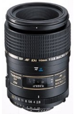 Buy Tamron SP 90 mm F/2.8 Di 1:1 Macro for Canon Digital SLR Lens: Lens