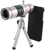 Mobilegear 18X Optical Zoom Telescope Mobile Camera Lens Kit with Back Cover & Tripod for Apple iPhone 6