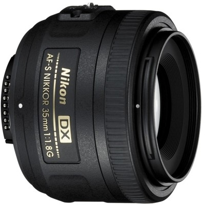Nikon AF-S DX NIKKOR 35 mm f/1.8G Lens Image