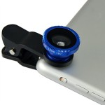 Burfa Universal 3 in 1 Mobile Phone/Tablet Camera Lens Kit