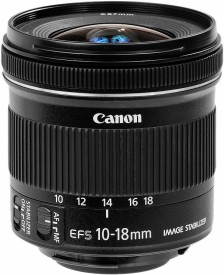 Canon EF-S 10 - 18 mm f/4.5 - 5.6 IS STM Zoom Lens Lens