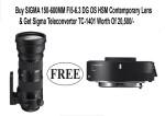 Sigma 150 600mm F/5 6.3 Dg Os Hsm Contemporary Lens For Nikon