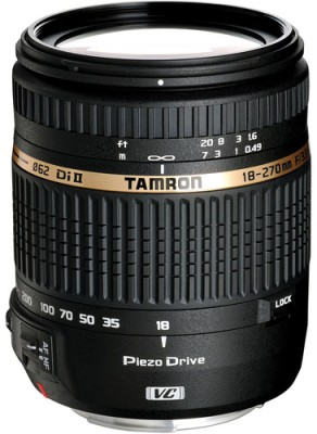 Buy Tamron 18 - 270 mm F/3.5 6.3 Di II VC PZD w/DA 18 for Canon Digital SLR Lens: Lens