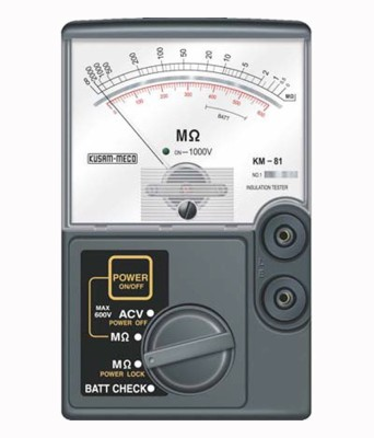 KM-81 Analog Insulation Tester