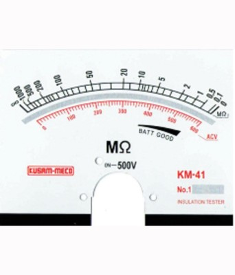 KM-41-500V-Analog-Insulation-Tester