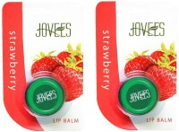 Jovees Strawberry Lip Balm Pack Of 2 (10 G)