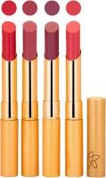 Rythmx Imported Matte Lipstick Combo (Slim 04-05) 16 G (Multicolor,)