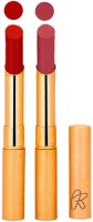 RythmX Creamy Matte Long Lasing Premium Lipstick ( Valentino, Plum, Lip Colors) 4.4 G (Valentino, Plum)