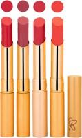 Rythmx Imported Matte Lipstick Combo (Slim 04-07) 16 G (Multicolor,)