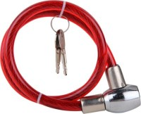 Amardeep Cycles Amardeep Cycles Sturdy Cable Lock (Red)