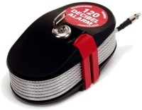 Lock Alarm Lock 6796 Cable Lock (Red, Black)