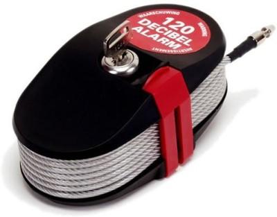 Lock Alarm Lock 6796 Cable Lock (Red, Black)