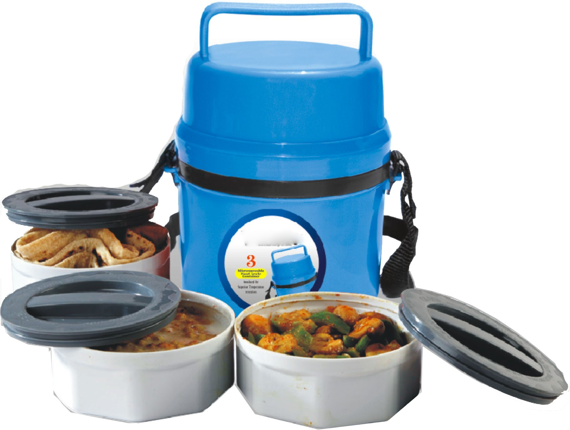 41 off on king international microwave lunch box 3 containers lunch box on flipkart paisawapas com