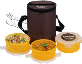 Rockmantra RMLB0009 3 Containers Lunch Box