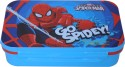Disney Spiderman Plastic Lunch Boxes - Set Of 1, Blue, Red