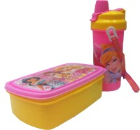 Dolphin Gallery Lunch Box With Water Bottle 2 Containers Lunch Box (750 Ml)