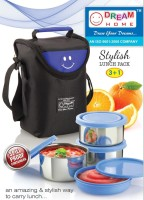 Dream Home Stylish Blue 4 Containers Lunch Box (1000 Ml)