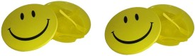 Creative Kids Set Of 2 Microwave Safe and Air Locked Smile Lunch Box - 1 Containers Lunch Box