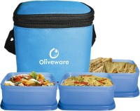 Oliveware LB#37 3 Containers Lunch Box