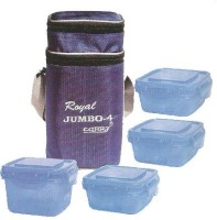 CARRY Attractive Branded Jumbo Lunch Box With 4 Containers 4 Containers Lunch Box (1 L)