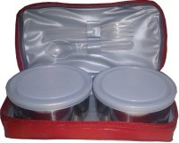 Milton Mini Red 2 Containers Lunch Box (400 Ml)