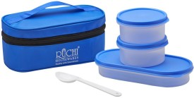 Ruchi Food Fresh Tiffin Set - Blue 2 Containers Lunch Box