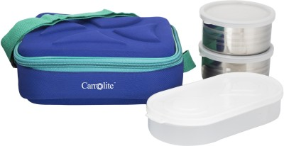 Carrolite Lunch Boxes Executive Square Blue