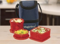 Polyset Magic Seal � Marc 3 Containers Lunch Box (1220 Ml)