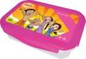 Chhota Bheem Plastic Lunch Box - White And Pink