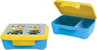 Minions Elite Divider 1 Containers Lunch Box (500 Ml)