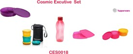 Tupperware Cosmic Classic Executive Set 9 Containers Lunch Box
