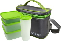 Oliveware LB53Green 4 Containers Lunch Box: Lunch Box