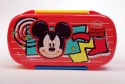 Disney Tiffin Plastic Lunch Boxes - Set Of 5, Red, Yellow