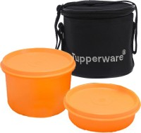 Tupperware Lunch Box With Bag 2 Containers Lunch Box (750 Ml)